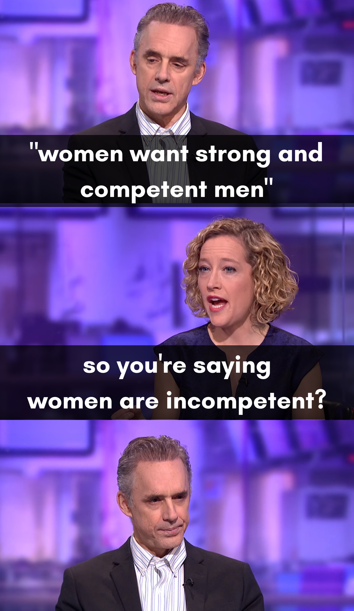 25 Memes That Sum Up Jordan Peterson vs. Cathy Newman